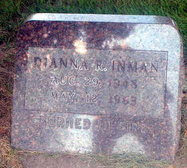 INMAN, DIANNA R. - Audubon County, Iowa   DIANNA R. INMAN