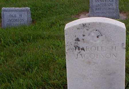 JACOBSEN, HAROLD H - Audubon County, Iowa | HAROLD H JACOBSEN