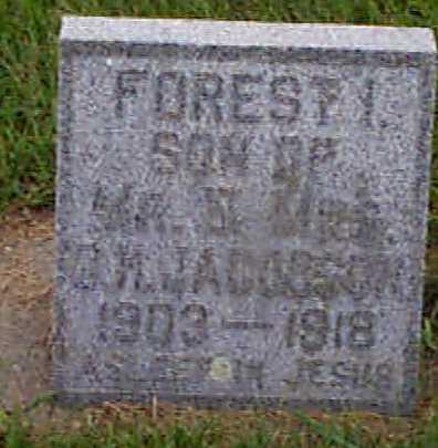 JACOBSEN, FORREST - Audubon County, Iowa | FORREST JACOBSEN