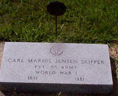 JENSEN, CARL MARIUS - Audubon County, Iowa | CARL MARIUS JENSEN