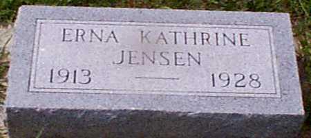 JENSEN, ERNA KATHERINE - Audubon County, Iowa | ERNA KATHERINE JENSEN