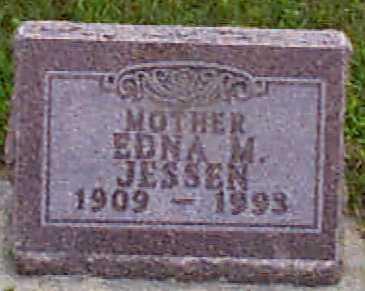 PETERSEN JESSEN, EDNA M - Audubon County, Iowa | EDNA M PETERSEN JESSEN