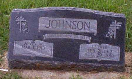 JOHNSON, ESTHER - Audubon County, Iowa   ESTHER JOHNSON