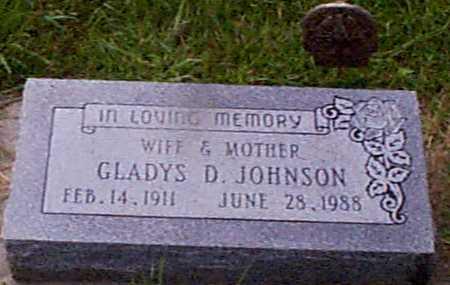 JOHNSON, GLADYS DORTHEA - Audubon County, Iowa | GLADYS DORTHEA JOHNSON