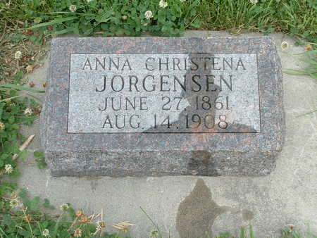 JORGENSEN, ANNA CHRISTENA - Audubon County, Iowa | ANNA CHRISTENA JORGENSEN