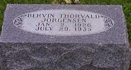 JORGENSEN, BERVIN THORVALD - Audubon County, Iowa | BERVIN THORVALD JORGENSEN