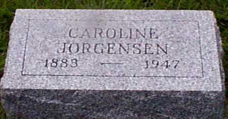 JORGENSEN, CAROLINE - Audubon County, Iowa | CAROLINE JORGENSEN
