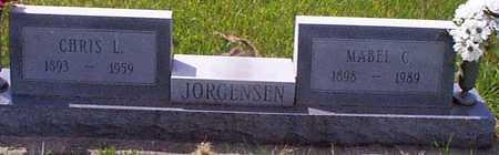 CLEMSEN JORGENSEN, MABEL C - Audubon County, Iowa | MABEL C CLEMSEN JORGENSEN