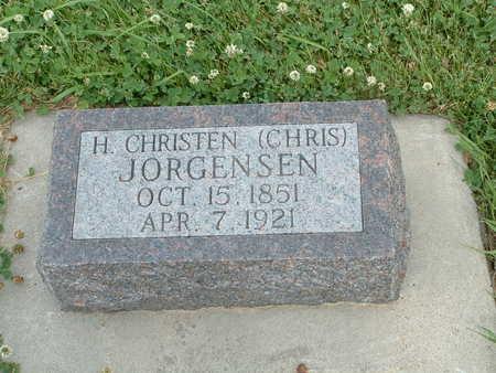 JORGENSEN, H CHRISTEN - Audubon County, Iowa   H CHRISTEN JORGENSEN