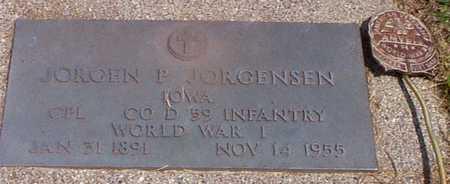 JORGENSEN, JORGEN P - Audubon County, Iowa | JORGEN P JORGENSEN