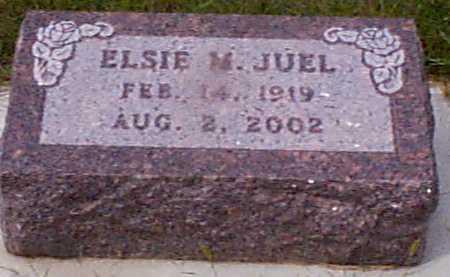 JOHANSEN JUEL, ELSIE M - Audubon County, Iowa   ELSIE M JOHANSEN JUEL