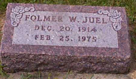 JUEL, FOLMER W - Audubon County, Iowa | FOLMER W JUEL