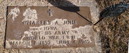 JUHL, CHARLES A. - Audubon County, Iowa   CHARLES A. JUHL