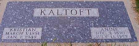 KALTOFT, KRISTIAN - Audubon County, Iowa | KRISTIAN KALTOFT