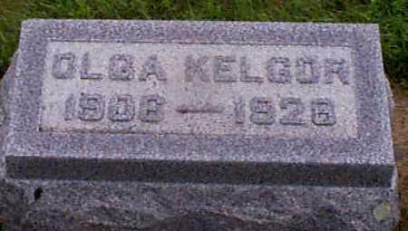 KELGOR, OLGA - Audubon County, Iowa | OLGA KELGOR