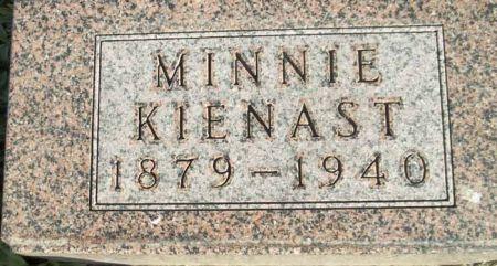 KIENAST, MINNIE - Audubon County, Iowa | MINNIE KIENAST