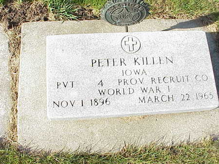 KILLEN, PETER - Audubon County, Iowa | PETER KILLEN