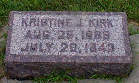 KIRK, KRISTINE J - Audubon County, Iowa | KRISTINE J KIRK