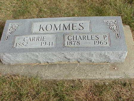 KOMMES, CHARLES P. - Audubon County, Iowa | CHARLES P. KOMMES