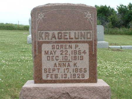 KRAGELUND, SOREN P - Audubon County, Iowa   SOREN P KRAGELUND
