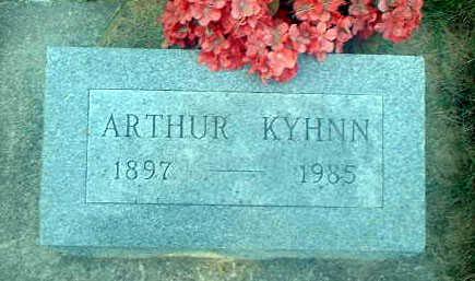 KYHNN, ARTHUR - Audubon County, Iowa | ARTHUR KYHNN