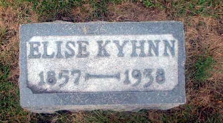KYHNN, ELISE - Audubon County, Iowa | ELISE KYHNN