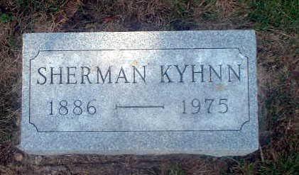 KYHNN, SHERMAN - Audubon County, Iowa   SHERMAN KYHNN