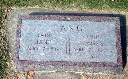 LANG, JANE - Audubon County, Iowa | JANE LANG