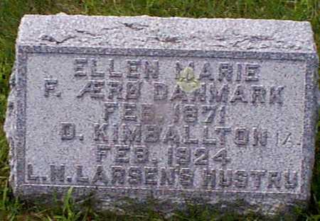 LARSEN,  ELLEN MARIE - Audubon County, Iowa |  ELLEN MARIE LARSEN