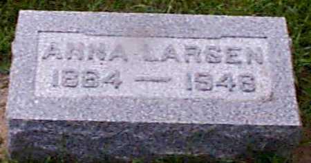 LARSEN, ANNA - Audubon County, Iowa | ANNA LARSEN