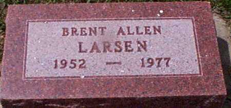 LARSEN, BRENT ALLEN - Audubon County, Iowa   BRENT ALLEN LARSEN