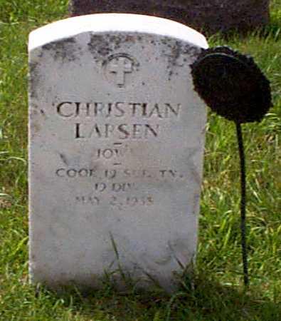 LARSEN, CHRISTIAN - Audubon County, Iowa | CHRISTIAN LARSEN