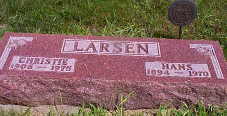 LARSEN, HANS - Audubon County, Iowa   HANS LARSEN