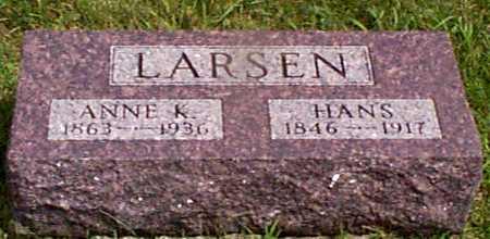LARSEN, ANNE K - Audubon County, Iowa | ANNE K LARSEN