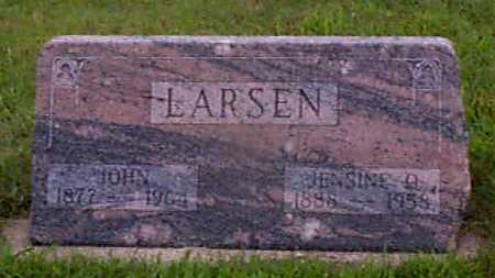 LARSEN, JOHN - Audubon County, Iowa | JOHN LARSEN