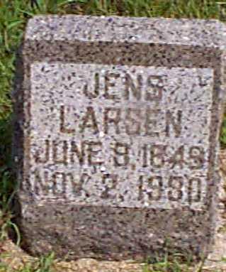 LARSEN, JENS - Audubon County, Iowa | JENS LARSEN