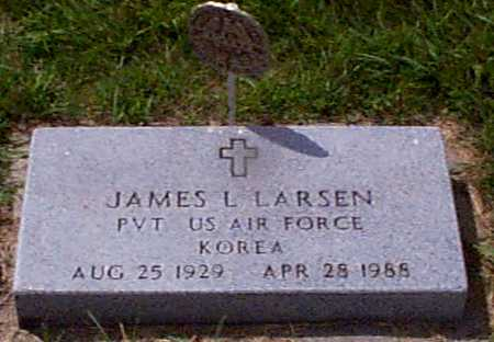 LARSEN, JAMES LEWIS - Audubon County, Iowa   JAMES LEWIS LARSEN