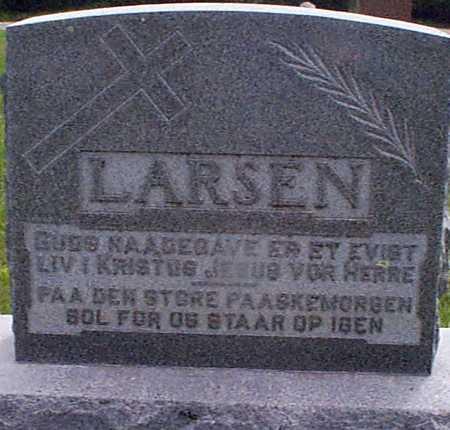 LARSEN, LARS N - Audubon County, Iowa | LARS N LARSEN
