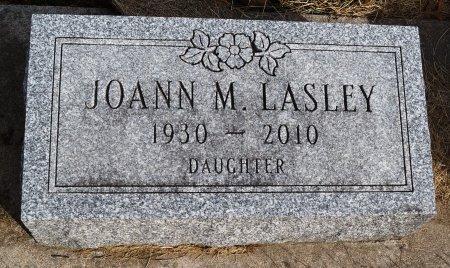 LASLEY, JOANN M. - Audubon County, Iowa | JOANN M. LASLEY