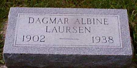 LAURSEN, DAGMAR ALBINE - Audubon County, Iowa | DAGMAR ALBINE LAURSEN