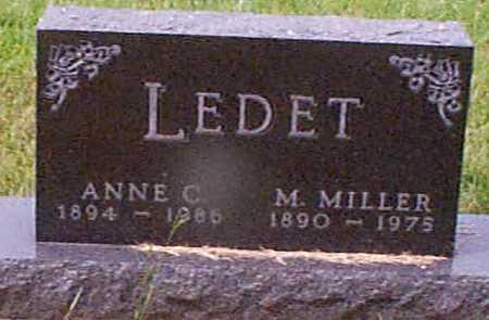 LARSEN LEDET, ANNA C - Audubon County, Iowa | ANNA C LARSEN LEDET