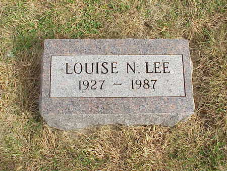 NEIENS LEE, LOUISE N. - Audubon County, Iowa | LOUISE N. NEIENS LEE