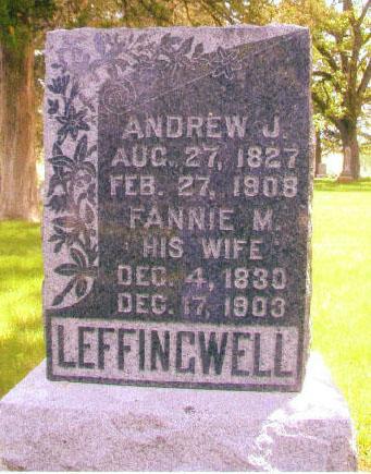 KELLOGG LEFFINGWELL, FANNIE MAE - Audubon County, Iowa | FANNIE MAE KELLOGG LEFFINGWELL