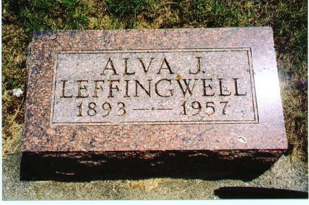 LEFFINGWELL, ALVA J - Audubon County, Iowa | ALVA J LEFFINGWELL