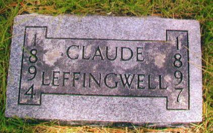 LEFFINGWELL, CLAUDE - Audubon County, Iowa | CLAUDE LEFFINGWELL