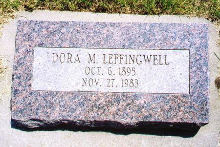 GILL LEFFINGWELL, DORA - Audubon County, Iowa | DORA GILL LEFFINGWELL