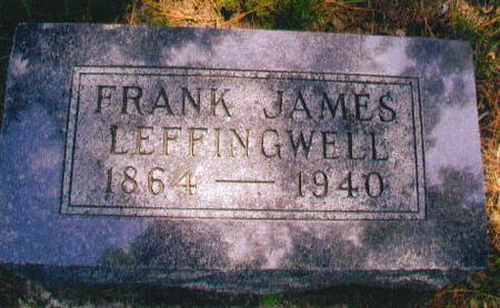LEFFINGWELL, FRANK JAMES - Audubon County, Iowa | FRANK JAMES LEFFINGWELL