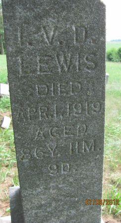 LEWIS, I. V. D.   (ISAAC VAN DORSEY) - Audubon County, Iowa   I. V. D.   (ISAAC VAN DORSEY) LEWIS