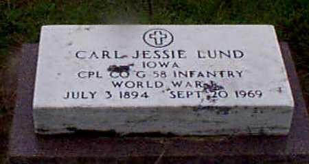 LUND, CARL JESSE - Audubon County, Iowa | CARL JESSE LUND