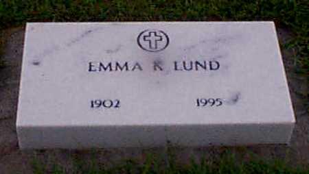 NIELSEN LUND, EMMA - Audubon County, Iowa   EMMA NIELSEN LUND